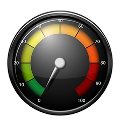 A speed meter device vector
