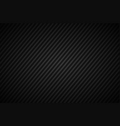 Dark abstract background black and grey striped vector