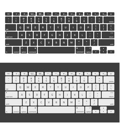 laptop keyboards vector image