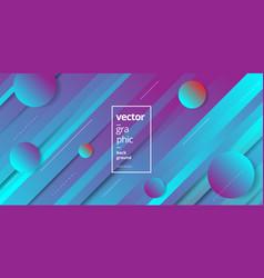 minimalist trendy purple geometric wallpaper vector image