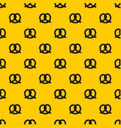 Pretzel pattern vector