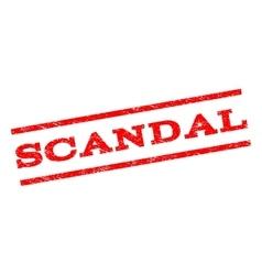 Scandal Watermark Stamp vector