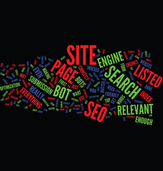 The benefits of seo text background word cloud vector