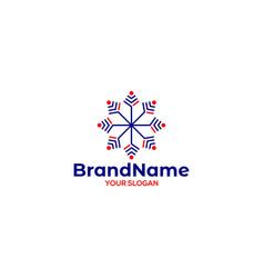 Y winter yoga logo design vector