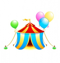 circus symbol vector image