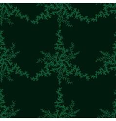 Retro stylish winter background hand-drawn vector image vector image