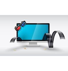 Multimedia display for online vector image