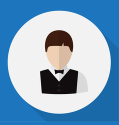 of profession symbol on vector image