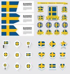 SET sweden vector image