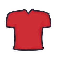american football tshirt vector image
