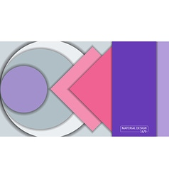 Background Unusual modern material design Format vector image