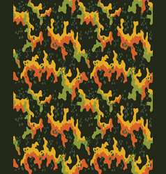 Camouflage patternseamless vector