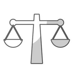 Justice icon image vector