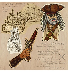 Pirates - Naval Battles vector