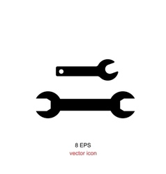 Wrench Simple Icon vector