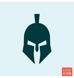 Trojan helmet icon vector image vector image