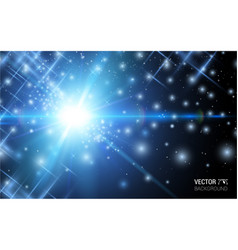 abstract magic light background design vector image
