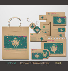 Christmas branding vector