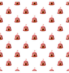 Circus tent pattern vector