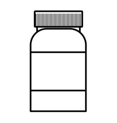 Dietary supplement cartoon vector
