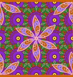 gentle tender floral background flowers on violet vector image
