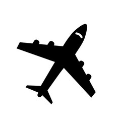 Icons airplanes icon vector