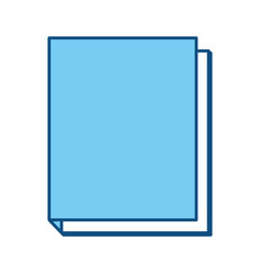 school note book vector image