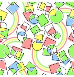 Seamless geometrical background vector