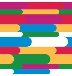 Childrens pattern Multicolored stripes with semici vector image
