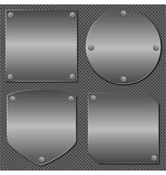 Metal Boards vector image