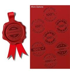 09 wax shield satisfaction guarantee vector