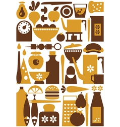 kitchen 1 seamless vector image