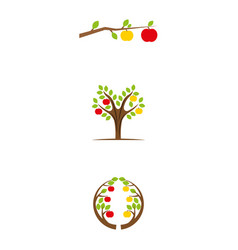 appletree vector image