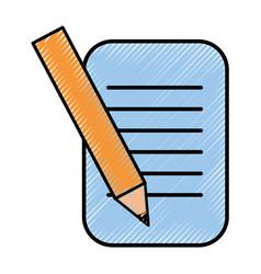Business document symbol vector