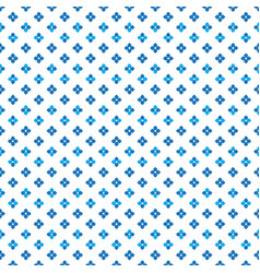 Color blue dense cute little flower dots pattern vector