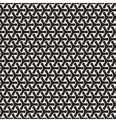 Seamless Black and White Mosaic Triangular vector image