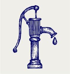 Water pump vector image vector image