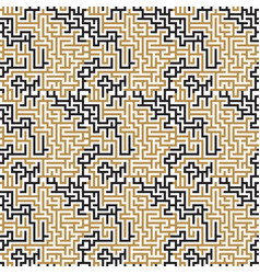 geometric seamless pattern eps 10 vector image