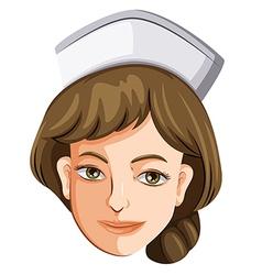 A female nurse vector image