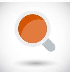 Coffee single icon vector image