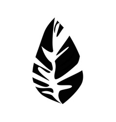 Leaf icon image vector