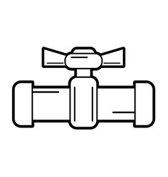 pipe vector image