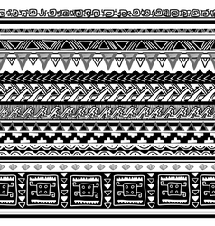 tribal texture vector image
