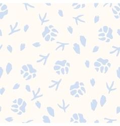 Winter seamless pattern vector