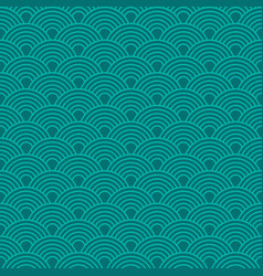 Abstract waves simple seamless deep blue tone vector