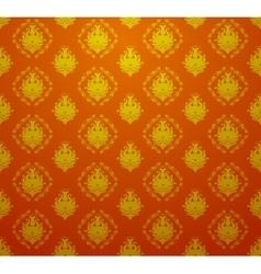 Seamless retro vintage victorial baroque wallpaper vector image vector image