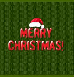 christmas retro postcard vector image