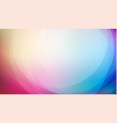 curved abstract colorful background vector image
