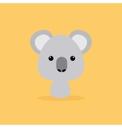 Cute Cartoon Wild Koala vector image