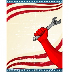 Labor Day icon vector image vector image